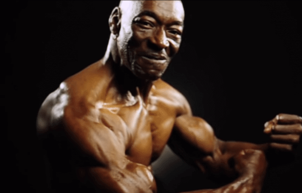 70 years old and still packing great abs.