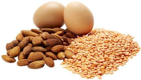 You can get lots of protein from natural foods.