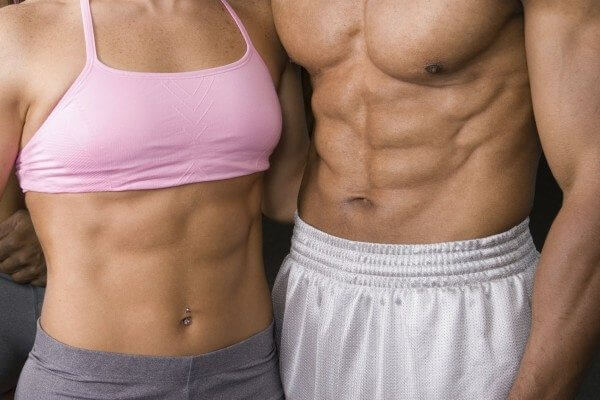 Six pack abs make your body look fantastic.