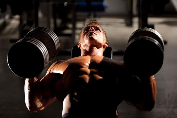 The Dumbbell Bench Press can help you build a great upper body.