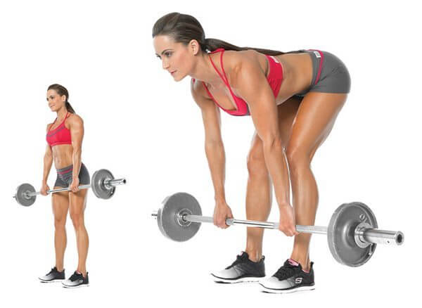 Good form is important to get the best results with the Romanian deadlift.