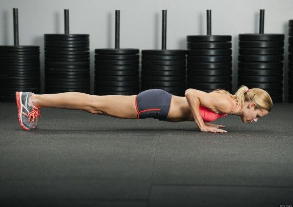 Get a good balance of weight lifting and bodyweight exercises for optimal results.