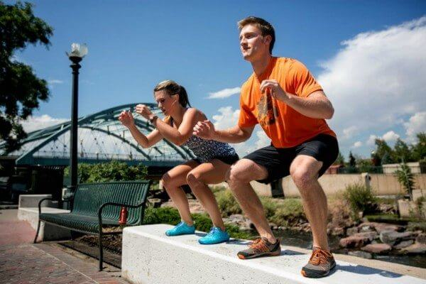 Even if you can't get to a gym, you can still get a useful workout wherever you may be.