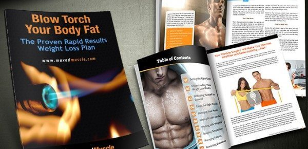 Blow torch your body fat and watch it melt away.