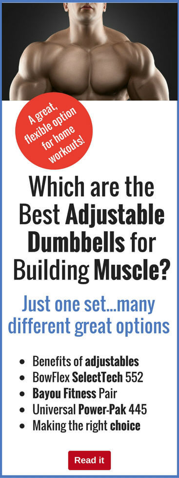 Dumbbells are a superbly-versatile bodybuilding tool, and adjustable barbells are perfect for home use. Find out which are the best products available, and what to look for when purchasing.