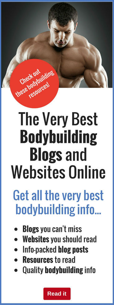 Check out these all-important websites to obtain all the vital training, workout, nutrition and supplement information you need to achieve the body of your dreams...it's all here!