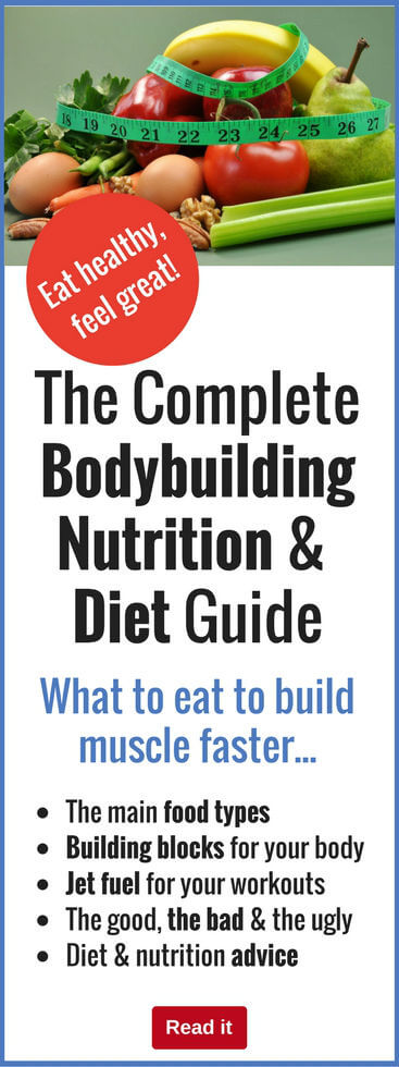 Everything you need to know about bodybuilding diet and nutrition is right here. Find out how to fuel your body and build maximum muscle whilst reducing body fat successfully.