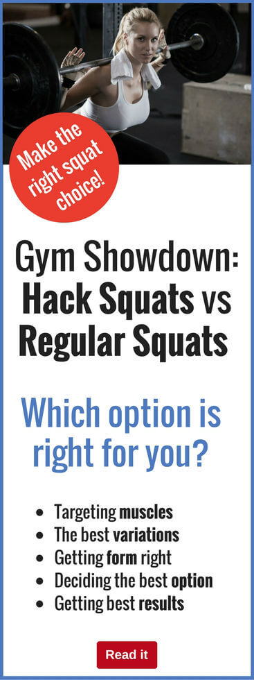 If you want to build up really great legs, then squats are a great way to go. Here we compare regular squats with hacks squats to see how they shape up.