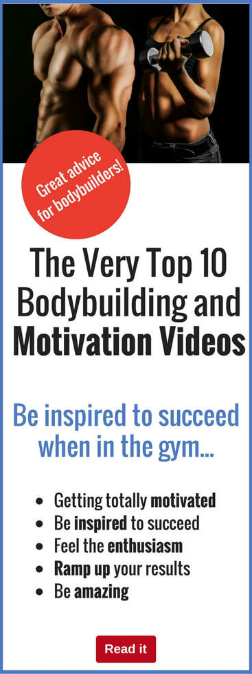Check out these awesome and inspiring motivational videos to power your workouts to a whole new level. Don't settle for average...inspire yourself to achieve amazing things in the gym.
