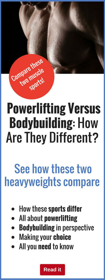 Both powerlifting and bodybuilding involve lifting weights, yet they are very different. Discover what the difference is and what it means to you.