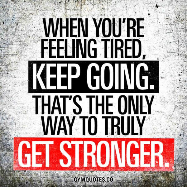 Tired Motivational Quotes: The Top Twenty, Best-Ever Motivational Fitness Quotes