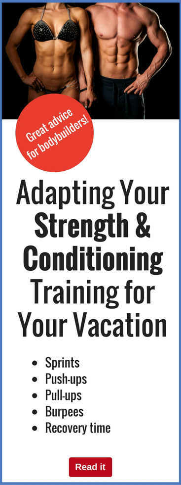 Don't let your vacation plans ruin your exercise regime…stay on track by implementing good practices while you are away from home.