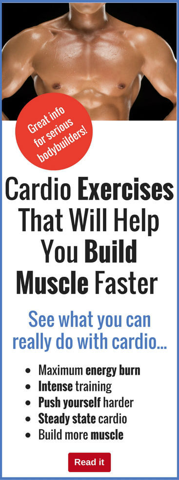 There are all kinds of cardio exercises that are great for burning calories…but if you make the right choices, you can build muscle with them, too.
