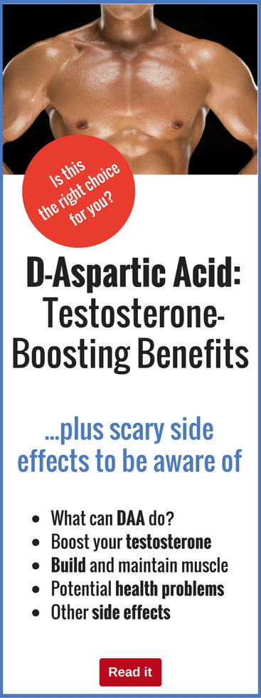 Daa d-aspartic acid side effects
