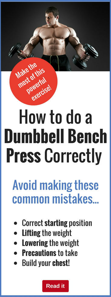 How To Do A Dumbbell Bench Press Correctly Avoid These Mistakes