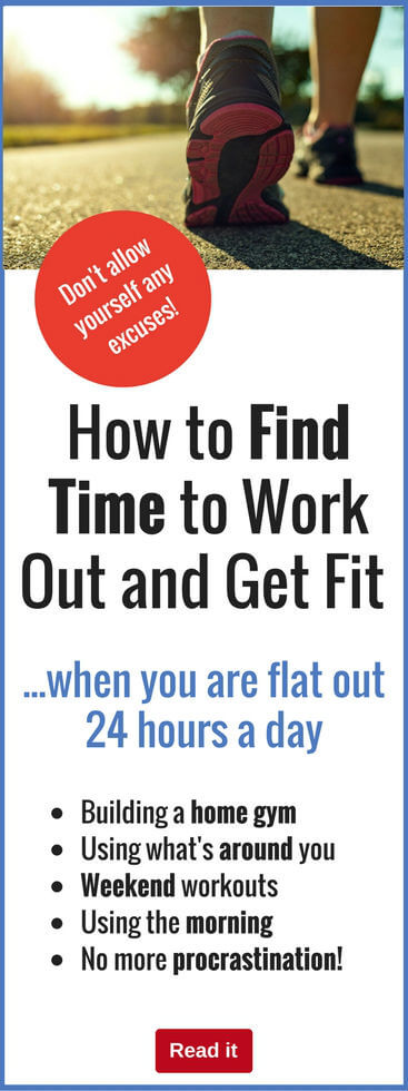 We all live busy lives, so finding time to fit in a workout can be tough. Here's how to do it, no matter how much is going on in your life.