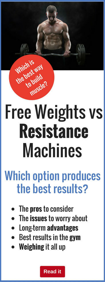 Some bodybuilders swear by free weights, some love resistance machines. But which delivers the best results? Check out the pros and cons and choose the best muscle-building option for you.