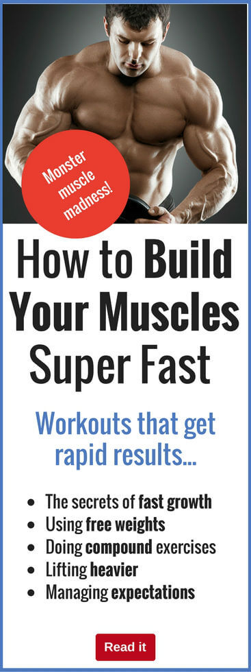Why build muscle slowly? Discover the secrets of piling on pounds of extra muscle fast to build an impressive body you can be truly proud of. Easier than you think.