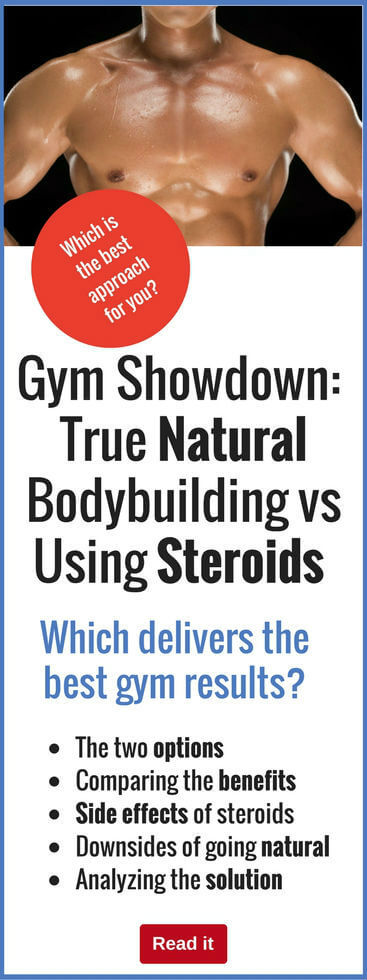 Some bodybuilders swear by steroids, while others swear you can get great results using more natural tactics. Decide which option is best for you.