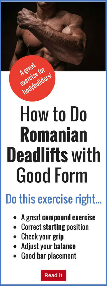 Romanian deadlifts are a fantastic exercise..but only if you do them right. Discover the secrets of good form to build the biggest muscles fastest.