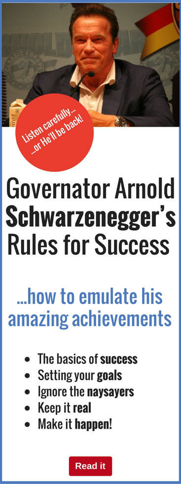 If you want to succeed, here are the simple rules of SUCCESS you need to know. Discover how Arnold Schwarzenegger achieved his success...and you can, too.