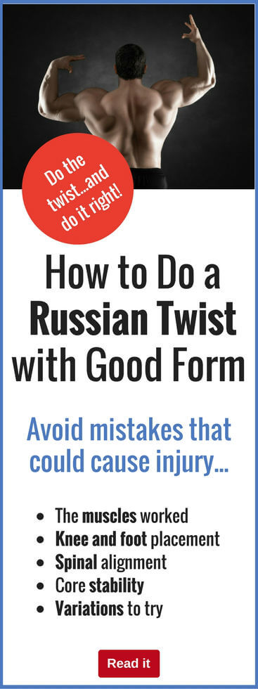 Russian Twists are fantastic for building muscle...but only if you get your form right. Don't risk underperforming...check out everything you need to know about doing Russian Twists correctly.