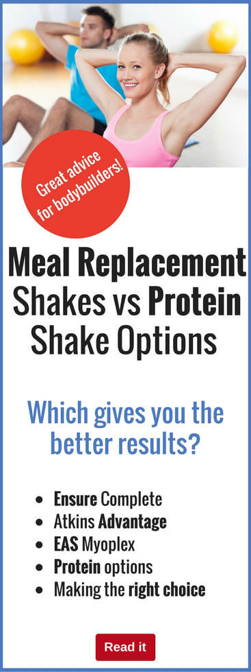 Shakes are vital to bodybuilding success, but should you go for protein shakes or meal replacement shakes? Get the lowdown on both of these options and decide which is right for you.
