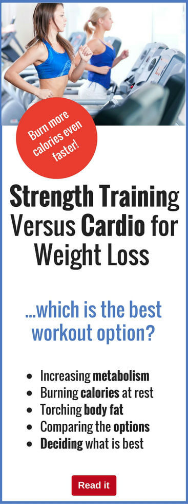 Both strength training and cardio are fantastic exercise options. But which one is best for weight loss? Find out here…