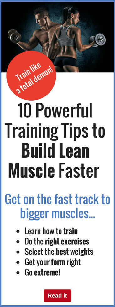 Don't build muscle slowly...do it fast! These clever training techniques will help you build lean muscle at double-quick speed. It's easier than you think when you know how.
